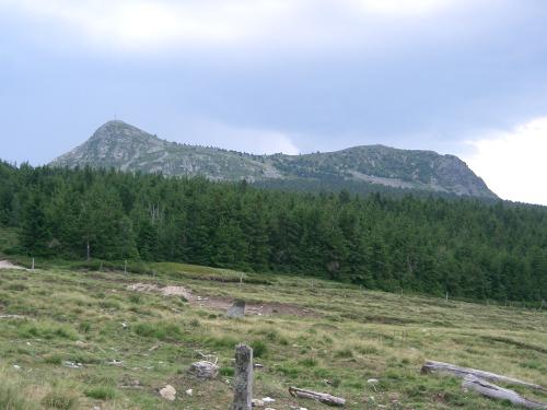Vue du Mont Mezenc